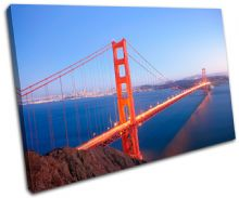 Golden Gate Bridge Landmarks - 13-1877(00B)-SG32-LO